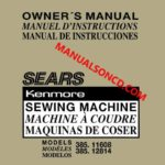 Janome 521 Sewist Sewing Machine Instruction Manual