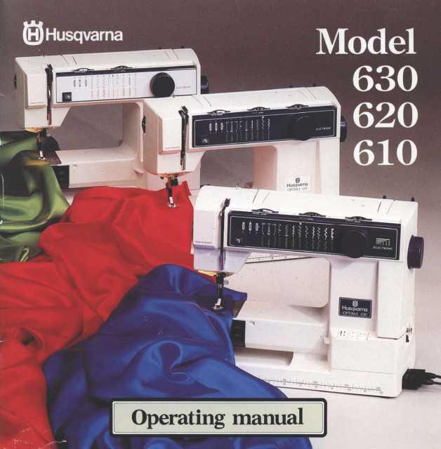 Husqvarna 40 40 40 Sewing Machine Instruction Manual Cool Husqvarna 610 Sewing Machine