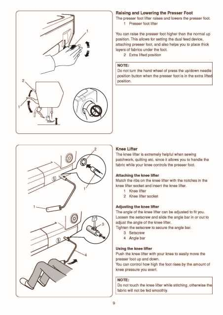 User manual Janome 7700QCP Horizon (96 pages)