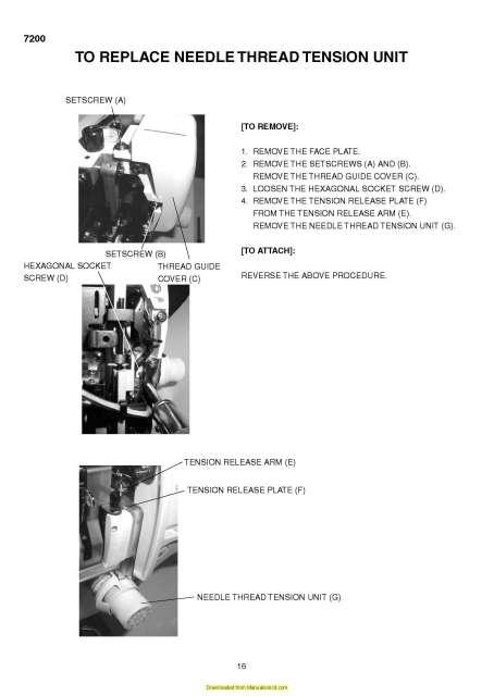 elna 6003 quilters dream instruction manual