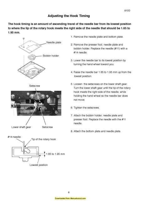 30 Elna Sewing Machine Parts Diagram