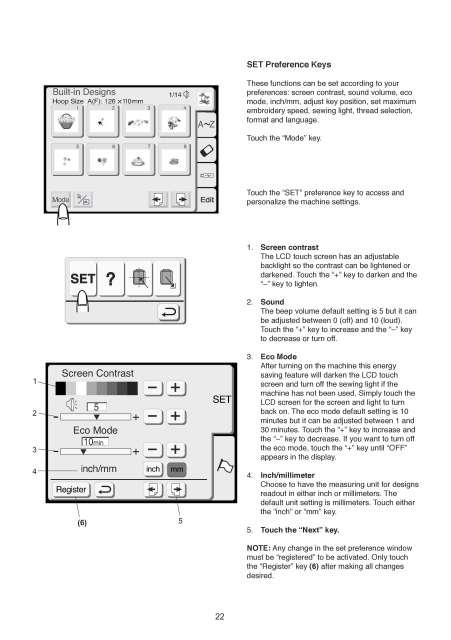 Elna 820 Expressive Sewing Machine Instruction Manual Elna 8300