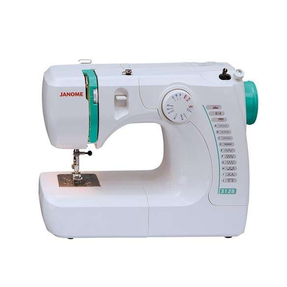 Janome New Home 3128 Sewing Machine Instruction Manual