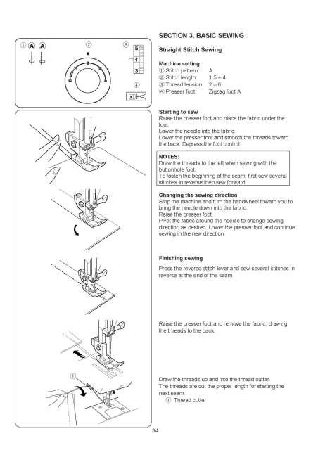Janome sewing machine manual sewist 521.