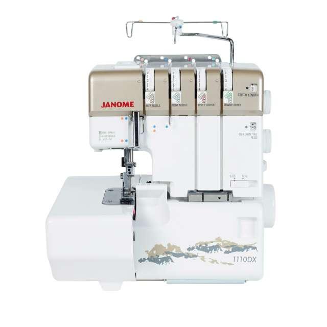 Janome 1110DX Serger Sewing Machine Service-Parts Manual