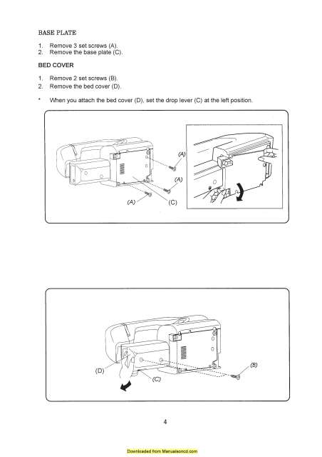 Manual For Janome 659 on