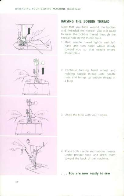 Singer 416 Stylist Sewing Machine Instruction Manual