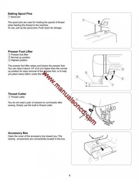 Kenmore Model 385_15008100 Sewing Machine Instruction Manual