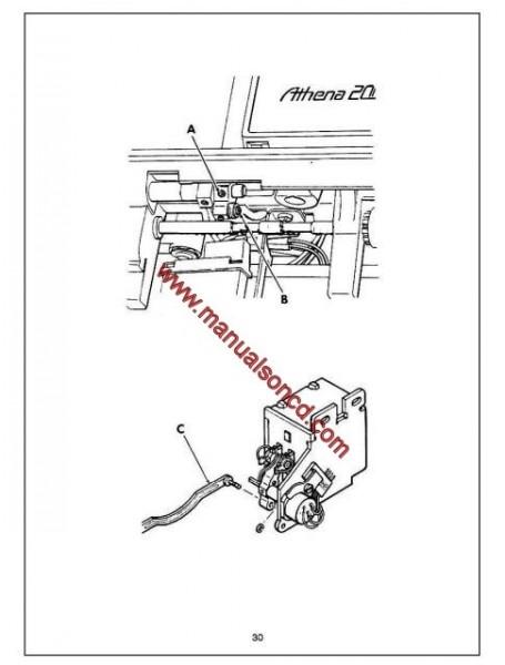 Singer 2000A Sewing Machine Service Manual Pdf