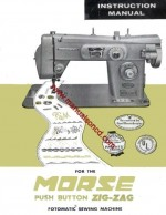 Morse Zig Zag Sewing Machine Manual Fotomatic