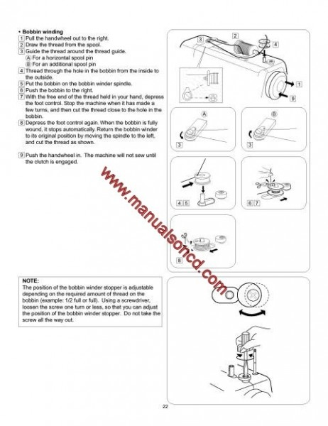 Kenmore Model 385.16126200 Sewing Machine Instruction Manual