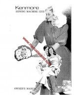 Kenmore Model 12332 Sewing Machine Instruction Manual 385.12332