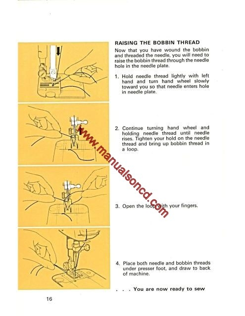 Singer 40 Stylist Sewing Machine Instruction Manual Impressive How To Thread A Bobbin On Singer Sewing Machine