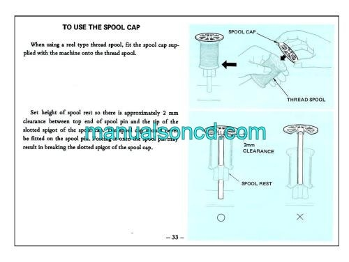Singer 20U Sewing Machine Instruction Manual