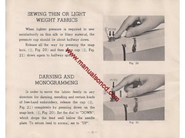 Koz Sewing Machine Instruction Manual