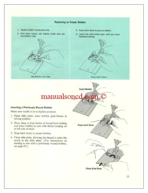 brother compal deluxe sewing machine manual