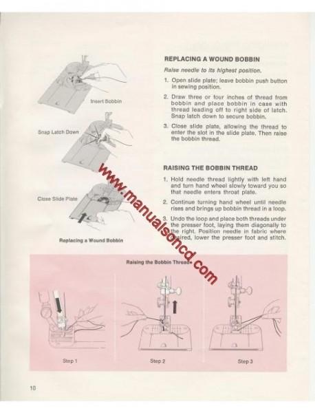 Singer 758 Sewing Machine Instruction Manual