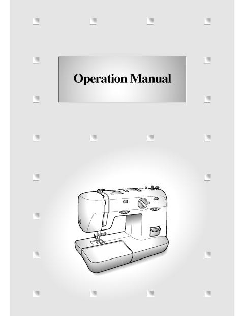 Brother XL40 Sewing Machine Instruction Manual Interesting White 5500 Sewing Machine