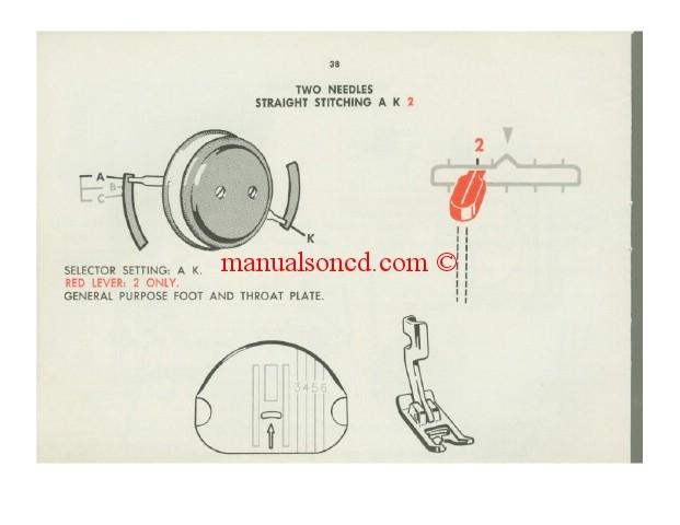 singer 401 slant o matic model sewing machine manual rh manualsoncd com Singer 401A Manual PDF Printable Singer Sewing Machine Manuals
