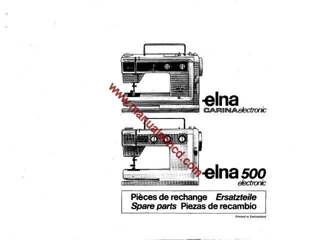 elna lock pro 4de manual
