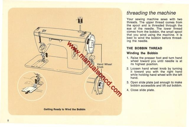 Instruction Manual, Simplicity SW2145 : Sewing Parts Online 44