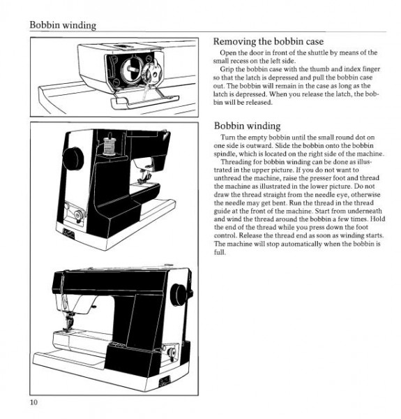 Viking 940 Sewing Machine Instruction Manual