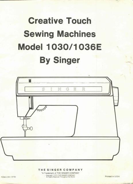 Fantastic Singer Creative Touch 1036 Manual Wiring Database Rimengelartorg