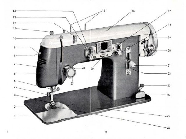 Pfaff 139 Treadle or Electric Sewing Machine Instruction Manual