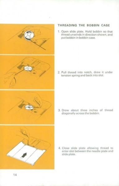 Singer 834 Sewing Machine Instruction Manual