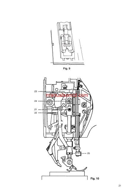sewing machine service manual pdf