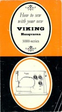 Viking 3000 Series Sewing Machine Instruction Manual