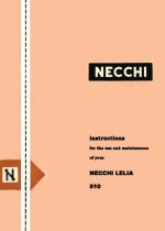 Necchi 510 Lelia Sewing Machine Instruction Manual