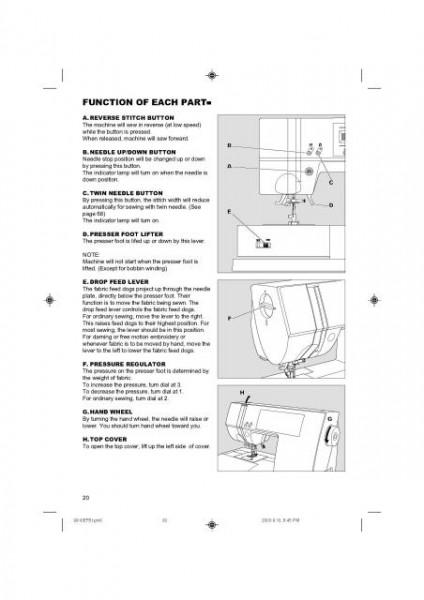 Singer 9910 Quantum Sewing Machine Manual