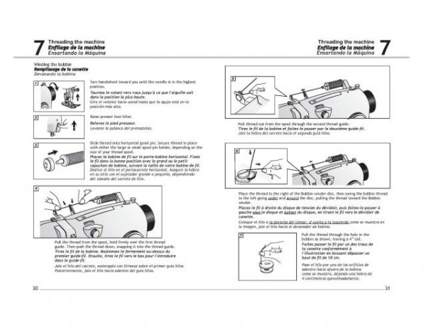 Singer 4206 Sewing Machine Instruction Manual