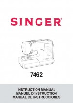 Singer 7462 Sewing Machine Instruction Manual