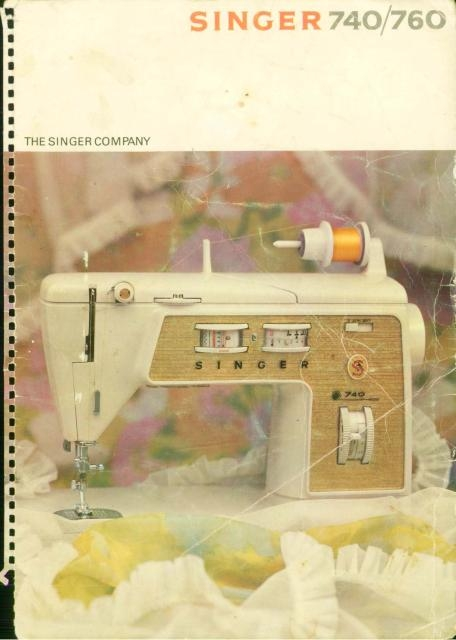 singer 760 sewing machine instruction manual rh manualsoncd com Owner's Manual Manual Book