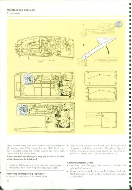 singer 760 sewing machine instruction manual rh manualsoncd com Service Station Maintenance Manual