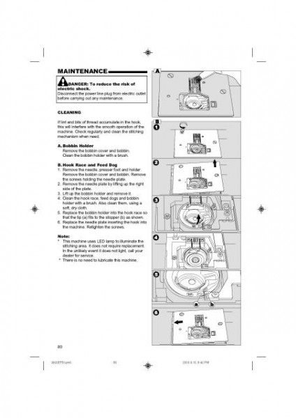 Singer 9920 Quantum Sewing Machine Manual