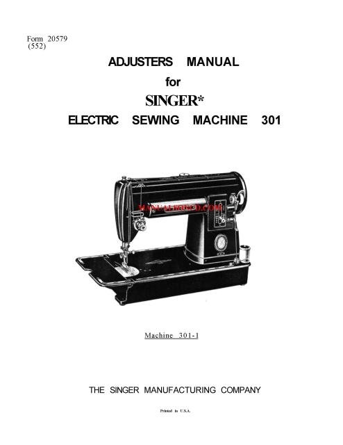 bernina sewing wiring diagram singer 301 301a    sewing    machine service manual  singer 301 301a    sewing    machine service manual