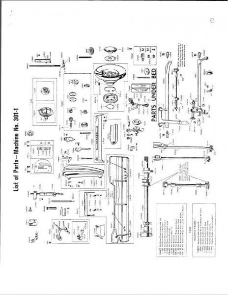 Singer 301 - 301A Sewing Machine Service Manual