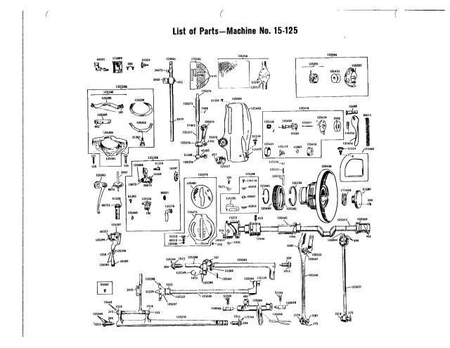 Singer 15 Sewing Machine Service Manual