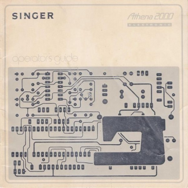 Singer 2000 Athena Sewing Machine Manual
