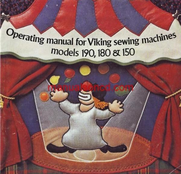 Viking Husqvarna 150, 180, 190 Sewing Machine Instruction Manual Pdf