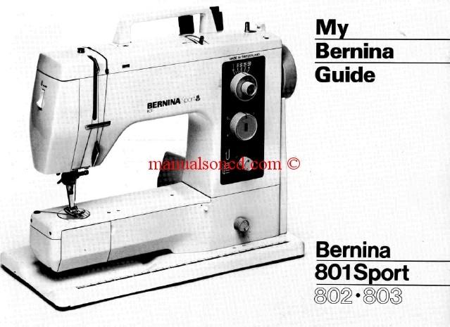 bernina instruction manuals rh manualsoncd com Elna Carina Sewing Machine Manual Elna Grasshopper Manual