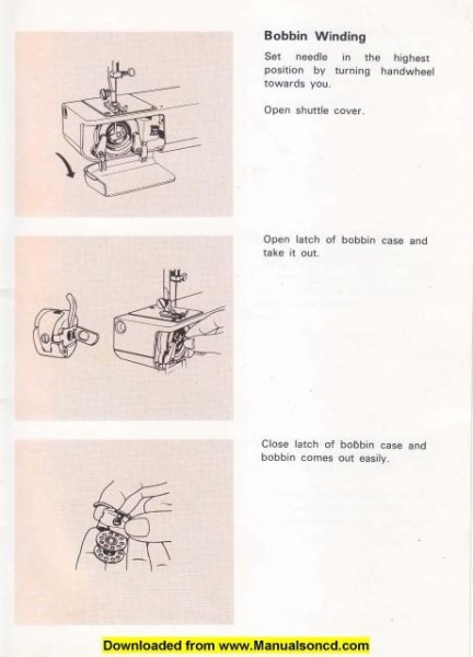 White 999 Sewing Machine Instruction Manual