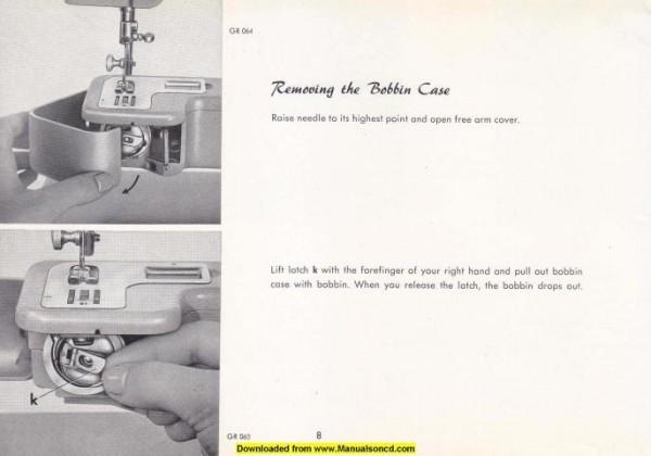 Pfaff 91 Sewing Machine Instruction Manual