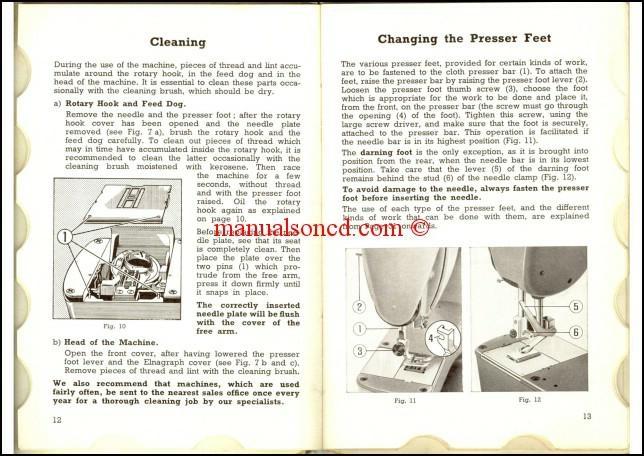 Elna Supermatic 40 Sewing Machine Instruction Manual Custom Elna Super Sewing Machine Manual