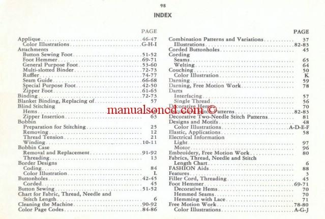 Singer 40 SLANTOMATIC Sewing Machine Manual Gorgeous Singer Sewing Machine 500a Manual