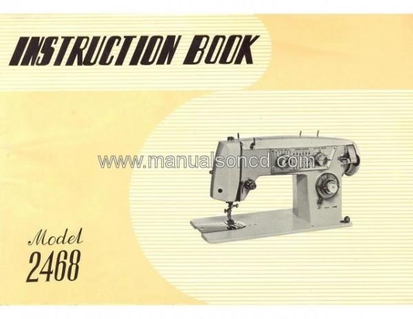 Elgin Model 2468 Sewing Machine Instruction Manual