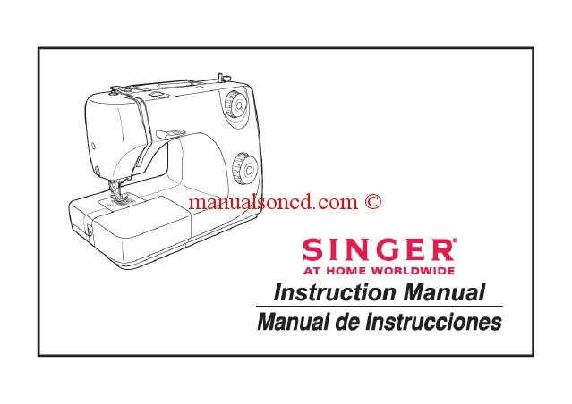 SINGER 8280 INSTRUCTION MANUAL Pdf Download 25